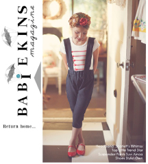 Babiekin's Magazine: Features our MAJORETTE t-shirt