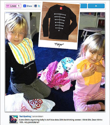 Tori Spelling's son, Liam, wearing our