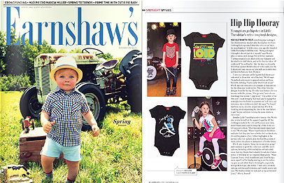 Little Trendstar featured in September issue of Earnshaw's Magazine