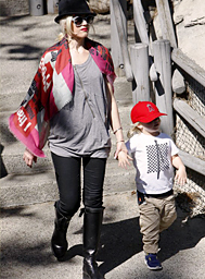 Gwen Stefani's son, Zuma, wearing our CLASH tee