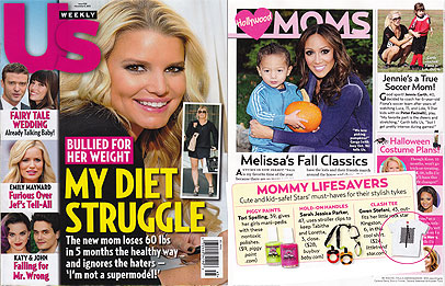 Little Trendstar featured in US Weekly Magazine