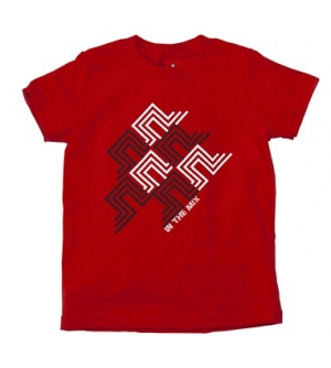'IN THE MIX' kids T-shirt Short Sleeve