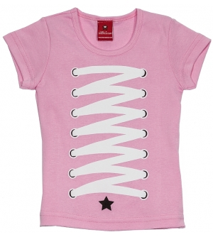 'ALL STARLET' Kids T-shirt | Laced up shirt