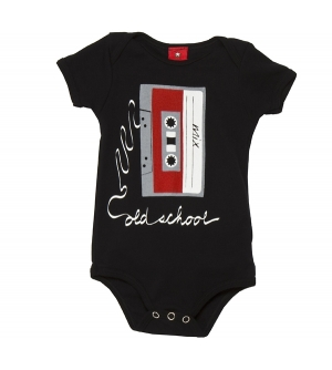 'OLD SCHOOL' Baby onesie