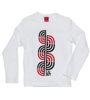 'LIL' BIT' Kids T-shirt Long Sleeve