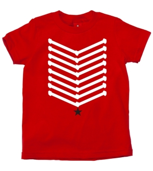 'SARGENT' Kids T-Shirt Short Sleeve
