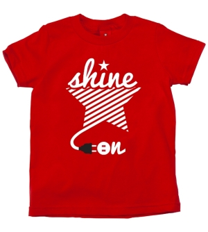 'SHINE ON' Kids T-Shirt Short Sleeve