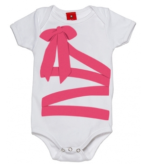 TIED IS HIGH Baby onesie