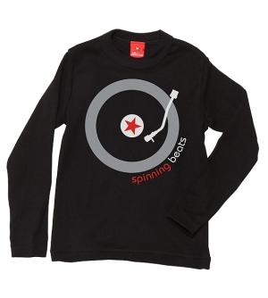 'SPINNING BEATS' Kids T-shirt Long Sleeve