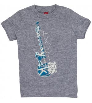 'BEAT GOES ON' Kids T-Shirt Short Sleeve- Heather Grey