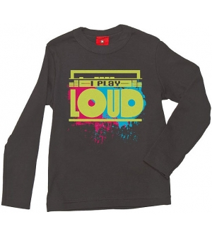 'I PLAY LOUD' Kids T-shirt Long Sleeve