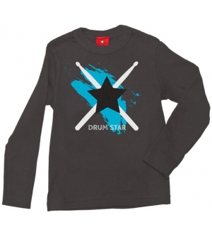 'DRUM STAR' Kids T-shirt Long Sleeve