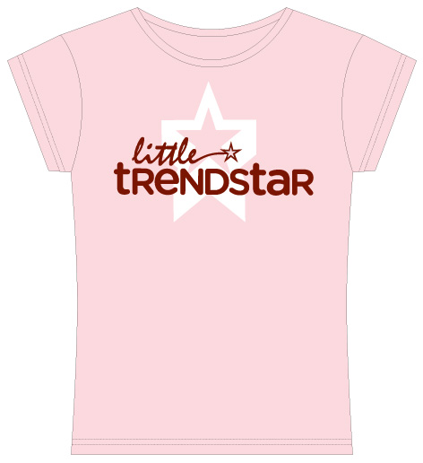 New style star is born girls tee little trendstar for A star is born kids salon