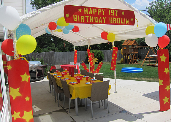 First Birthday Party For My Little Firecracker!  Little TrendStar