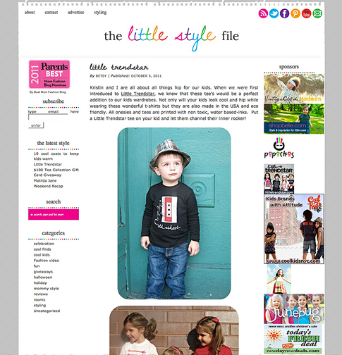 The Little Style File- Little Trendstar