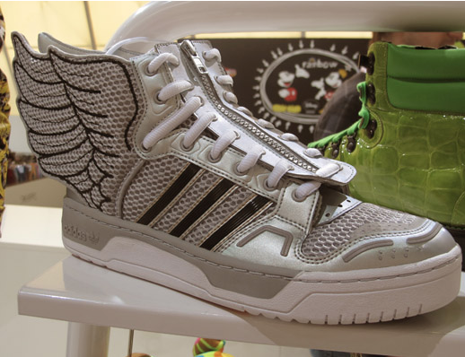 Jeremy Scott shoe for Addidas