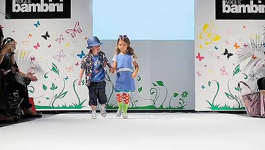 VOGUE Bambini Fashio Show 2011