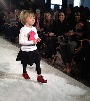 VOGUE BAmbini Fashion Show- Benatar t-shirt