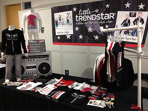 Little Trendstar booth
